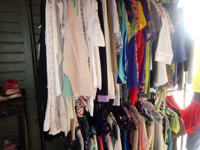 Vendo lote de roupas para Brechó ou bazar - Foto 3