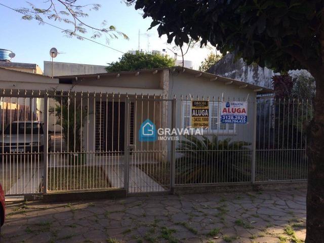 Casa com 3 dormitórios para alugar, 158 m² por R$ 3.900,00/mês - Centro - Gravataí/RS