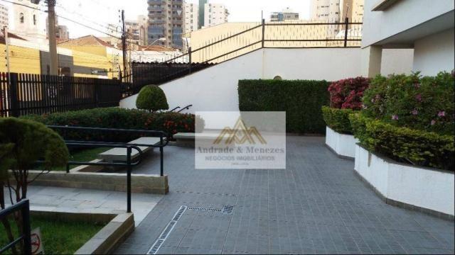 Apartamento com 2 dormitórios para alugar, 75 m² por R$ 1.050/mês - Centro - Ribeirão Pret - Foto 20