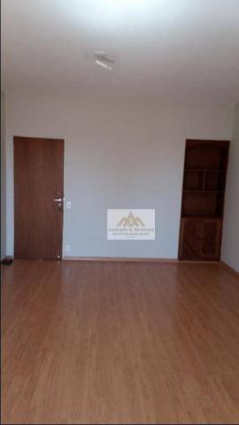Apartamento com 2 dormitórios para alugar, 75 m² por R$ 1.050/mês - Centro - Ribeirão Pret - Foto 6