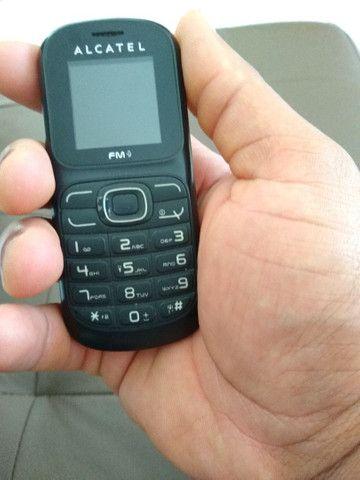 Alcatel One Touch, Duos Chips, lanterna e Rádio FM, original.