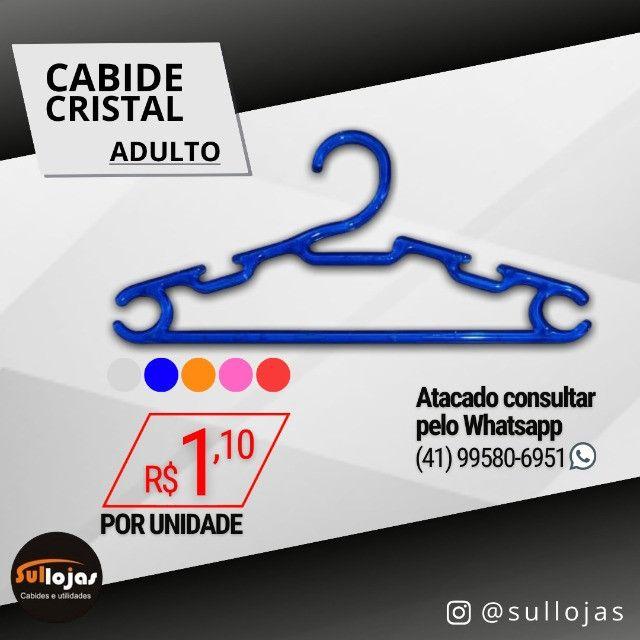 Cabide Acrílico Adulto - Foto 3
