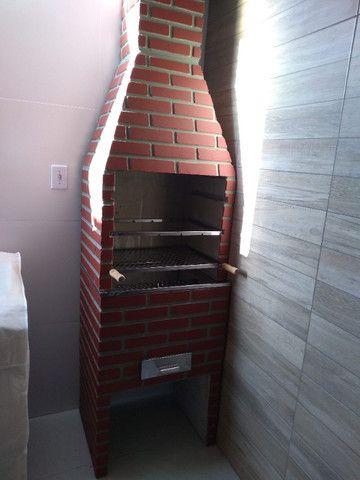 Churrasqueira Tijolinho 4 espetos 63x50 cm - Foto 5