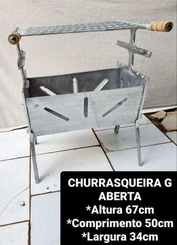 CHURRASQUEIRAS DESMONTÁVEIS A PARTIR DE 120,00 REAIS  - Foto 3