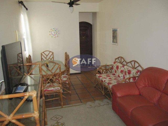 AZ-Apartamento com 3 quartos, 93 m², aluguel por R$ 2.800/mês-Centro-Cabo frio/RJ(AP0651) - Foto 5