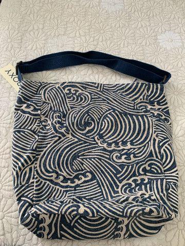 Conjunto Bolsa + Carteira Roxy (original) Estampado - Foto 3
