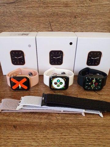 Smartwatch IWO 12 Lite W26 Série 6 40mm Tela infinita, Troca Pulseira, Faz ligações