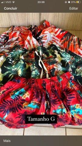 Promoção Shorts marculinos tactel