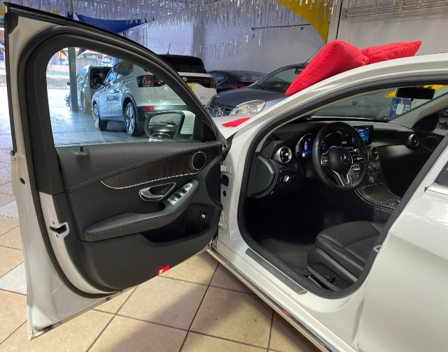 Mercedes Benz C 180 2019 1.6 Gasolina Único Dono Branca Estudo Troca e Financio - Foto 10