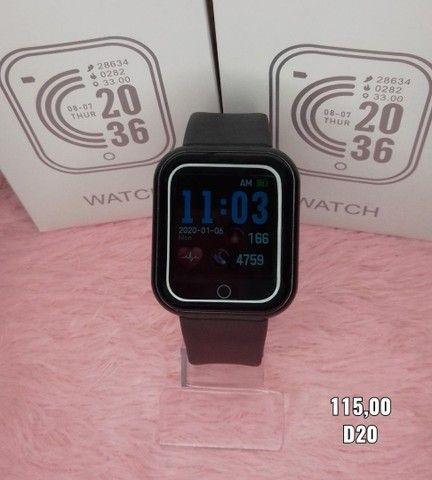 Relógio inteligente D20 feminino - Foto 2