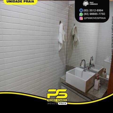 Apartamento com 3 dormitórios para alugar, 157 m² por R$ 6.500/mês - Tambaú - João Pessoa/ - Foto 5