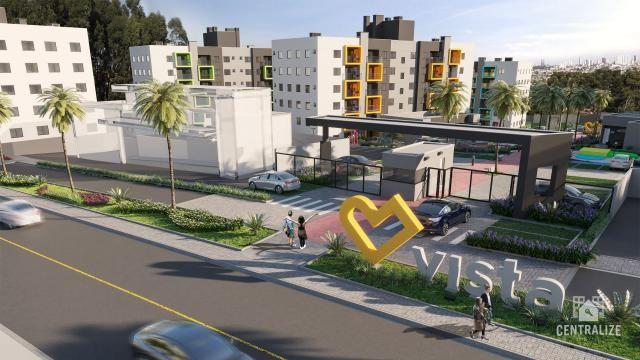 Apartamento à venda com 3 dormitórios em Contorno, Ponta grossa cod:1589