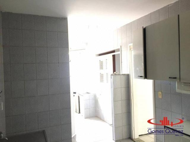 Apartamento com 3 dormitórios para alugar, 129 m² por R$ 1.400/mês - Dionisio Torres - For - Foto 14