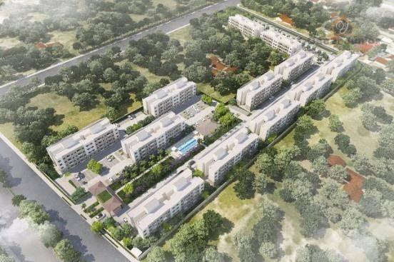 Apartamento com 2 dormitórios à venda, 49 m² por R$ 169.735,00 - Centro - Eusébio/CE - Foto 12