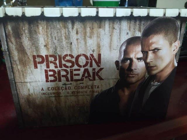 Prison Break Box DVD série completa e filme