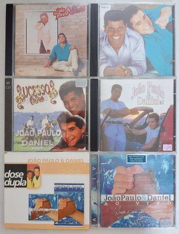 COLEÇÃO 7 CDs e 1 DVD JOÃO PAULO & DANIEL - PERFEITO ESTADO