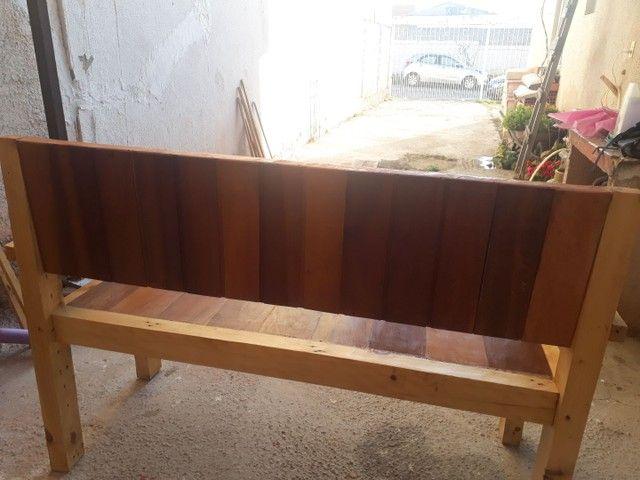 Banco de madeira  - Foto 4