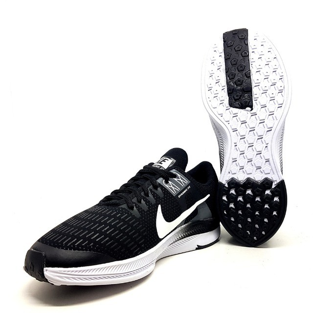Kit 2 Tênis 1 Nike Air Force Gucci + 1 Nike Dynamic Preto e Branco - Foto 3