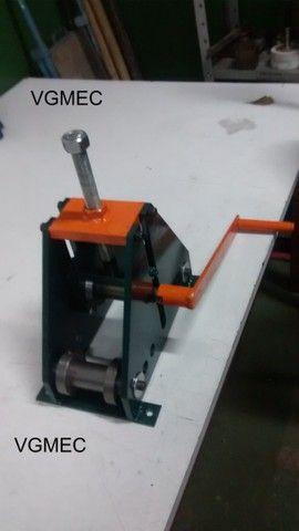 Calandra Manual para metalon - Foto 3