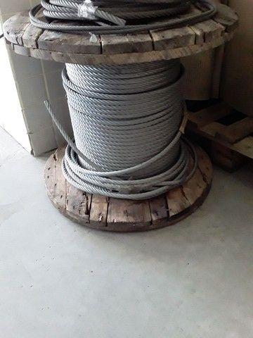 Vendo cabo de aço galvanizado