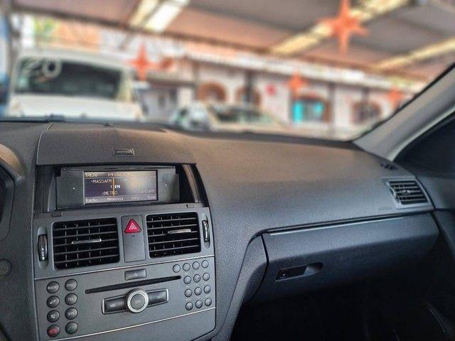 "Mercedes C180 Classic 1.8 Turbo Automático - 2011 "" Impecável ""  - Foto 8"