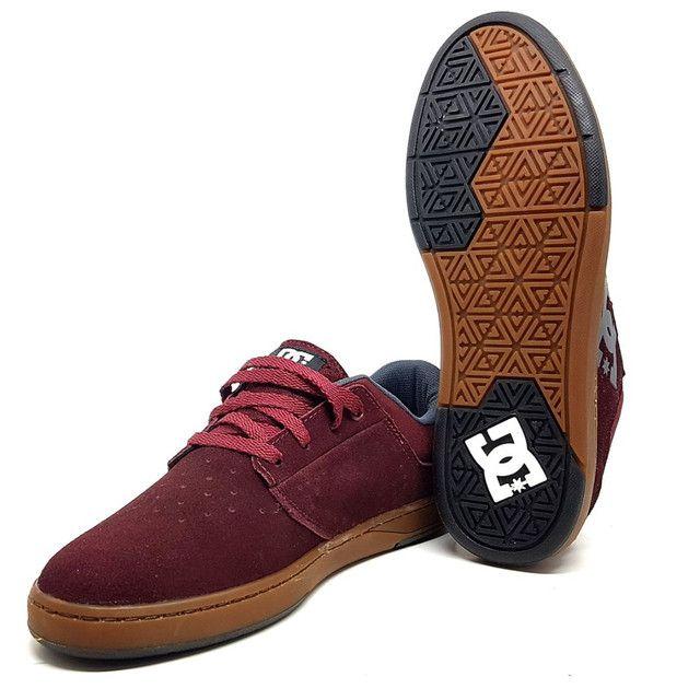 Tênis DC Shoes Plaza TC Couro Natural<br><br> - Foto 5