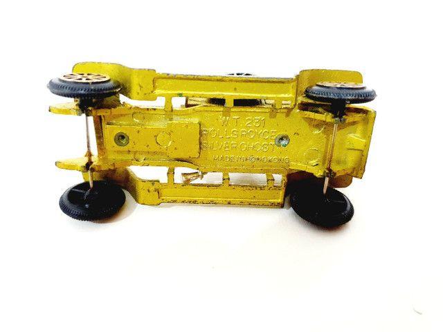 Calhambeque Rollsroyce Silverghost Retrô Miniatura - Coleção Carros Antigos <br> - Foto 4