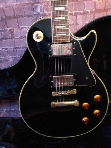 Guitarra Epiphone Les Paul Custom Pickups Gibson - Foto 2