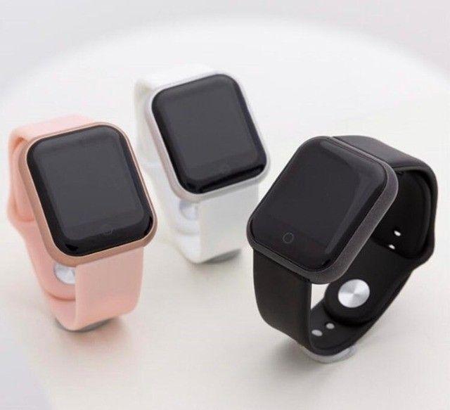 Relógio smartwatch y68 - Foto 5