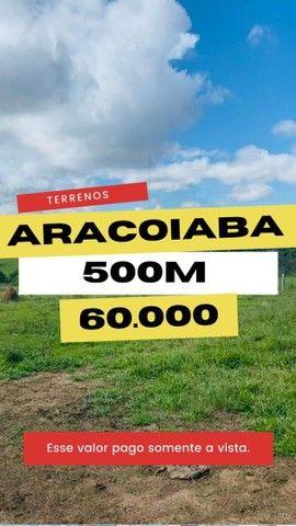 *GS* Terreno com 500m2º excelente topografia à venda em Araçoiaba da Serra  - Foto 2