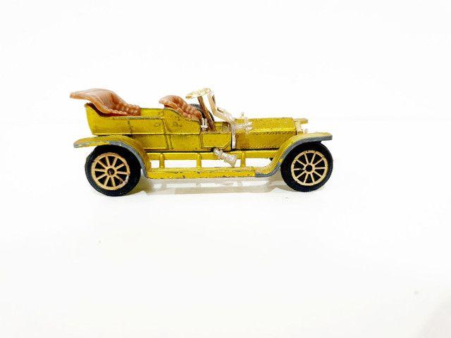 Calhambeque Rollsroyce Silverghost Retrô Miniatura - Coleção Carros Antigos <br> - Foto 6