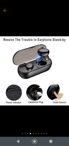 Fone Y30 Tws De Ouvido Sem Fio  Bluetooth Controle De Toque Headset - Foto 6