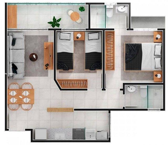Apartamento com 2 quartos com suite no Cascatinha - Juiz de Fora - MG - Foto 15