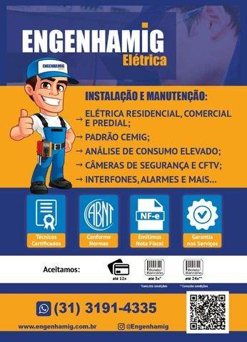 Eletricista em BH - Residencial, Comercial e Predial - Até 12x - Foto 2