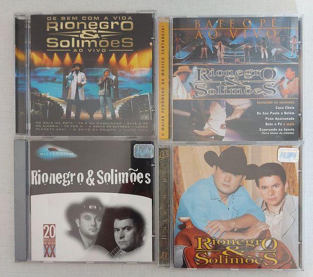 COLEÇÃO 4 CDs RIONEGRO & SOLIMÕES - PERFEITO ESTADO