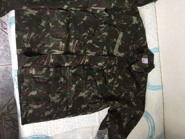 Roupa camuflada do exército brasileiro nova GG - Foto 2