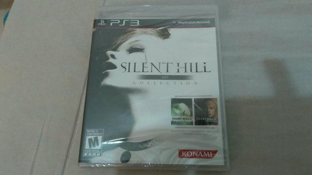 Silent hill HD collection PS3 (lacrado)