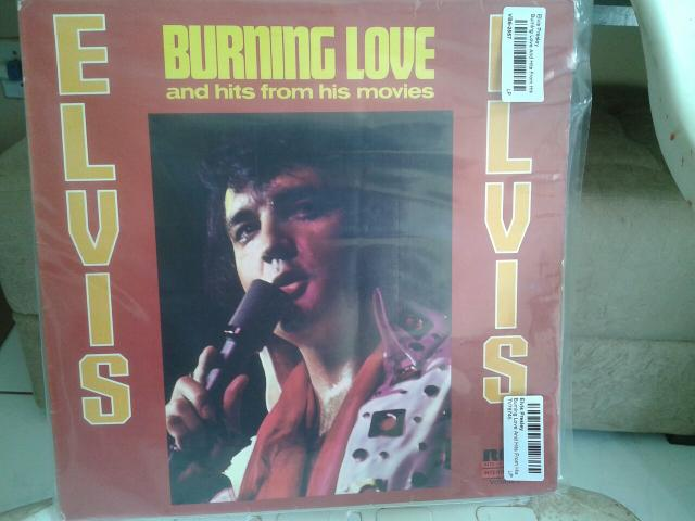 Lindo lp elvis presley burning love and hits from his movies