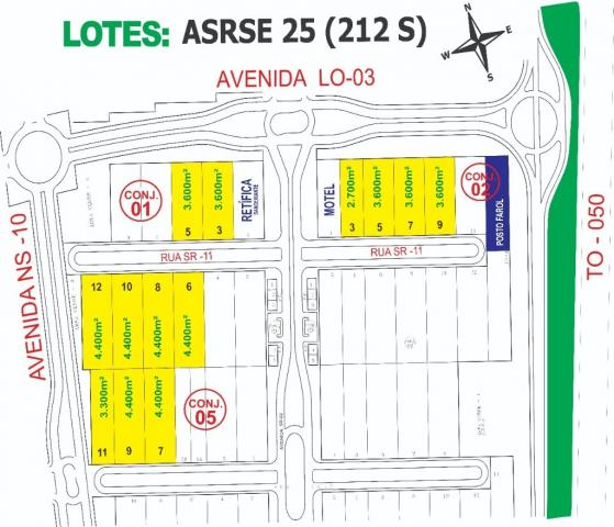 251 - Lote Comercial e industrial
