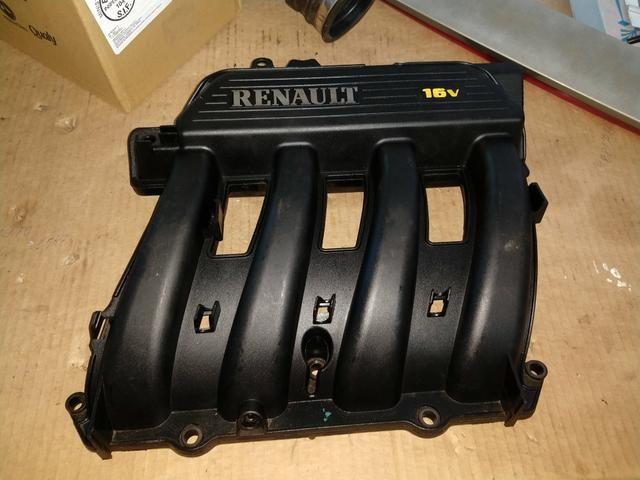 Coletor Ar Admissão Renault 1.6 16V