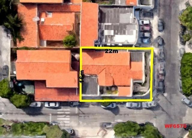 Casa na Aldeota, ponto comercial de esquina, 4 quartos, 2 vagas, próximo a Dom Luís - Foto 10
