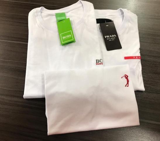 Camisetas em Algodão Menegotti - Foto 2