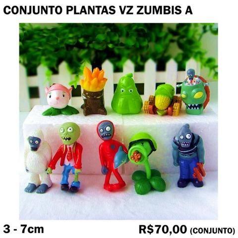 Conjunto Plantas vs Zumbis (4 Conjuntos Diferentes) Cada 70,00