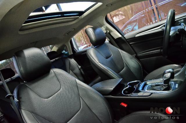 Ford Fusion 2.0 GTDi Titanium Teto solar revisado estado excelente!! - Foto 15
