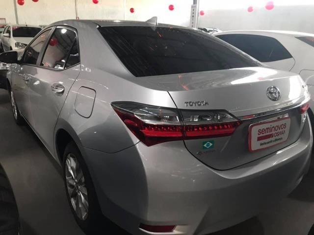 Toyota Corolla 27.000KM! XEi Automático - Modelo Novo - 2018 Só comigo via * - Foto 5
