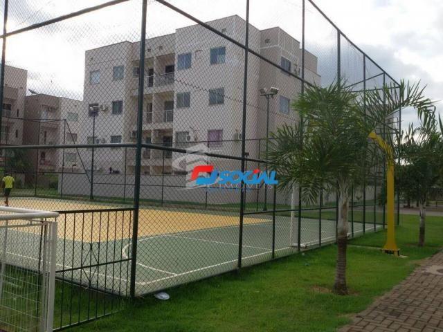 Apartamento Térreo para Locação Cond. Garden Club, Porto Velho - RO - Foto 2