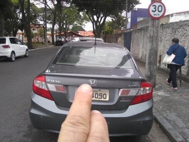 Honda civic lxr 2.0, cor cinza automático, flex - Foto 6