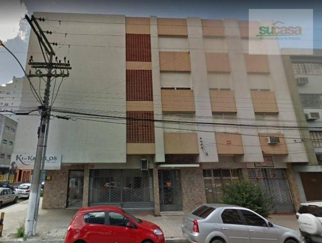 Apartamento à venda, 47 m² por r$ 138.000,00 - centro - pelotas/rs