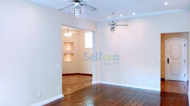 Apartamento com 3 dormitórios para alugar, 105m² - Icaraí - Niterói/RJ - Foto 3