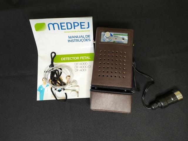 Detector Fetal Portátil Profissional MEDPEJ DF-4001 - Foto 3